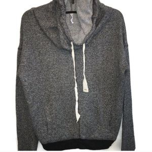 2for$20 American Eagle Gray Hoodie Crop Sweatshirt
